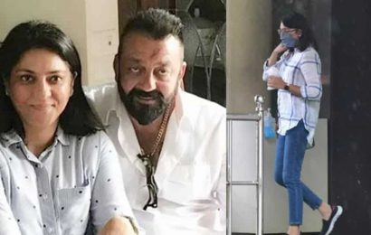Priya Dutt accompanies brother Sanjay Dutt to hospital for checkup post actor's cancer diagnosis