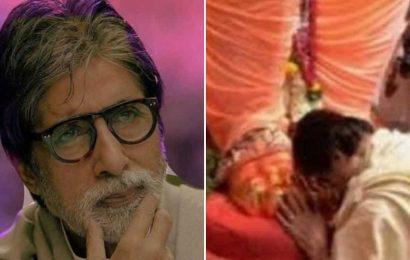 Ganesh Chaturthi 2020: Amitabh Bachchan shares a throwback from previous pandal visit, wishes 'Ganapati Bappa Moreya'