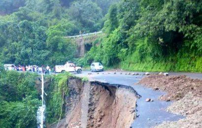 Swollen by rain, Uttarakhand rivers flow near danger mark, Badrinath highway closed