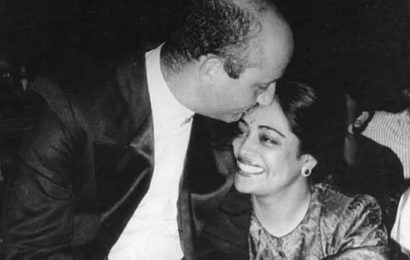 Anupam Kher wishes wife Kirron Kher on 35th wedding anniversary: 'I am and will always be there for you'