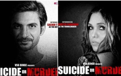 Suicide or Murder poster: Film inspired by Sushant Singh Rajput death case casts Shwetta Parasher as 'troublemaker'