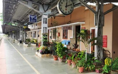 Indian Railways shares images of plotted plants at Tirur station in Kerala. 'Beautiful,' say people