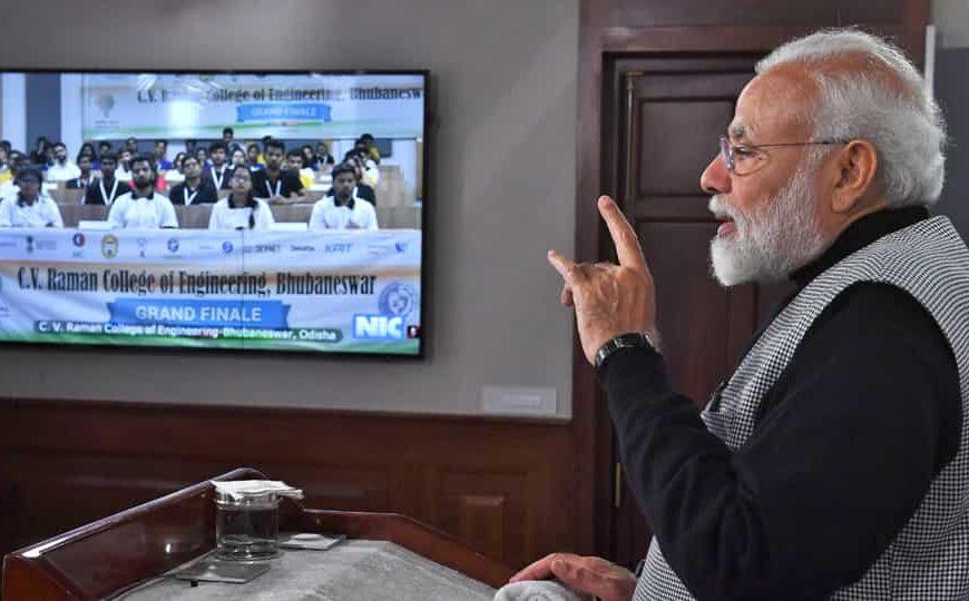PM Narendra Modi at Smart India Hackathon 2020 LIVE: Video conferencing begins