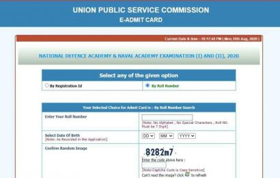 UPSC NDA 2020 admit card released at upsc.gov.in, here's how to download