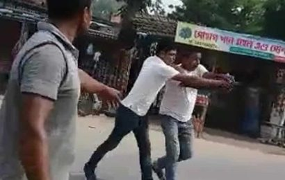 Video of local Trinamool Congress leader firing pistol at rivals goes viral in Bengal