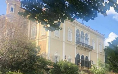 Sursock Palace, a 19th century heritage landmark in Beirut, destroyed in blast