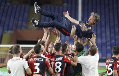 Genoa secures safety on last day of longest Serie A season