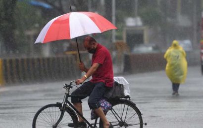 Uttar Pradesh witnesses light to moderate rains at few places