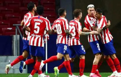 Atletico resume training as rest of squad test COVID-negative after two positives