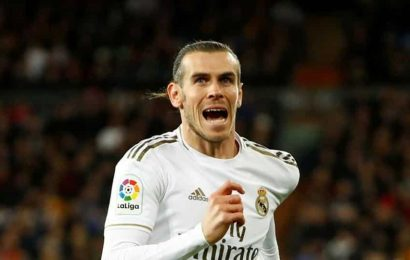 Champions League:Gareth Bale left out of Real Madrid squad to face Man City