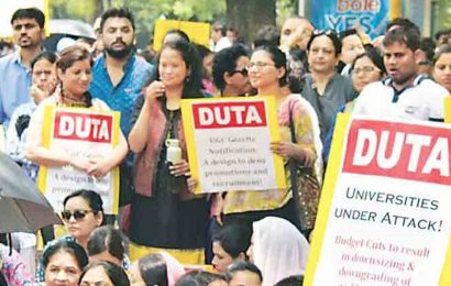 DUTA to hold protest on August 21 over release of grants for colleges