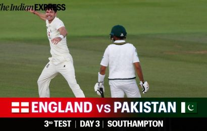 England vs Pakistan 3rd Test Day 3 Live Cricket Score Updates: Hosts in control