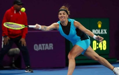 WTA players adjust to new normal in first event since March