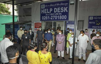 Ahmedabad's Covid-19 case count nears 27,000-mark; six die