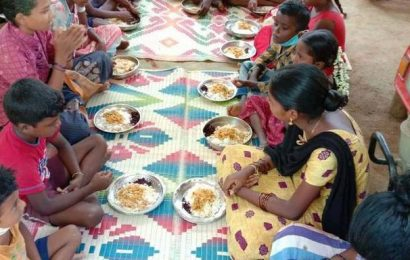 NGO provides noon meal to Irula children in Cuddalore