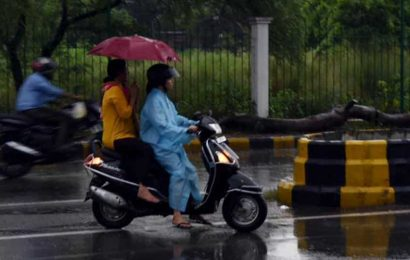 Extreme rain recorded in Gujarat, Rajasthan; warning for Delhi on Wednesday