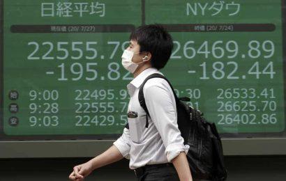 Covid: Japanese shares rise as investors bet on fresh US economic stimulus