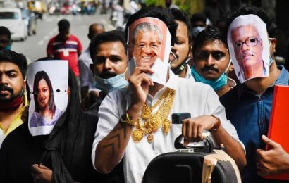 Opposition piles pressure on Kerala CM to quit over gold smuggling case