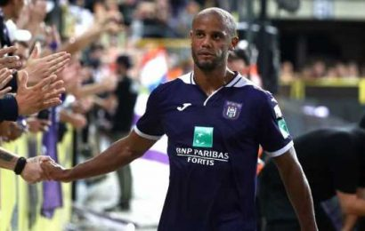Vincent Kompany retires as a player, becomes head coach of Anderlecht