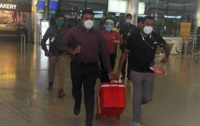 Donated lungs airlifted from Kolkata for transplant in Hyderabad