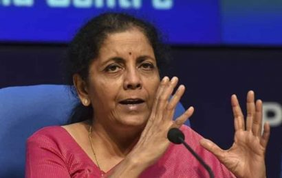 Income-tax officials must serve taxpayers as committed in the charter: Sitharaman
