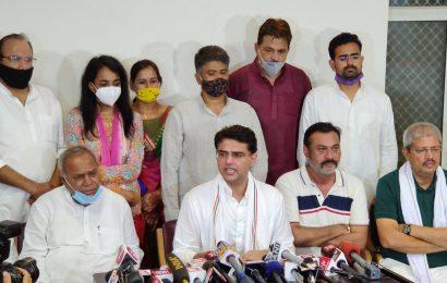 Sachin Pilot returns to Jaipur, says there shouldn't be any 'vendetta politics'