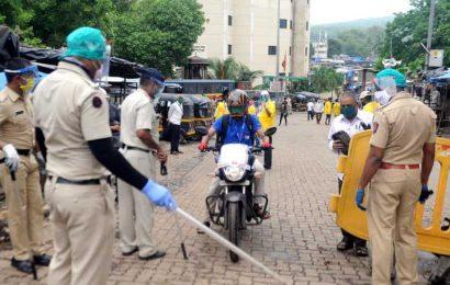 Maharashtra Police's Covid-19 tally mounts to 9,566; death toll at 103