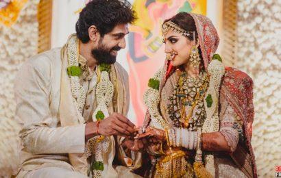 Rana Daggubati, Miheeka Bajaj tie the knot in an intimate ceremony