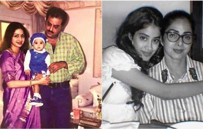 Wish you were here with us: Boney, Janhvi Kapoor on Sridevi's birth anniversary