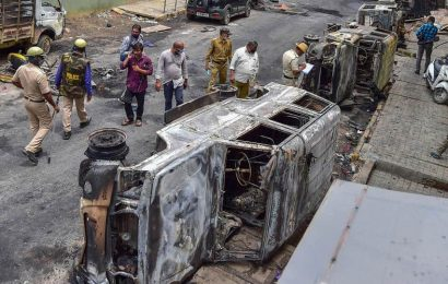 Bengaluru violence: 'Will recover cost of damages from culprits', tweets CM Yediyurappa