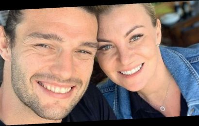 Billi Mucklow and Andy Carroll welcome newborn daughter home as they share family photo