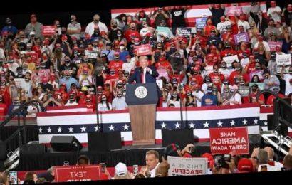 President Trump's Indoor Rally Flouts Science, COVID-19 Precautions