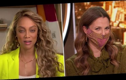 Tyra Banks Teaches Drew Barrymore the Importance of Smizing in the Age of Face Masks