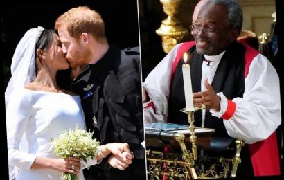 Bishop Michael Curry Says He Heard Voices of Slaves at Meghan and Harry's Wedding