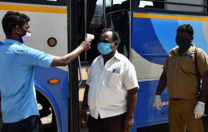 Bus services resume within districts across Tamil Nadu