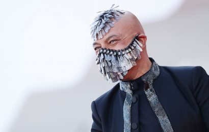PIX: Quirky Masks @ Venice Film Festival