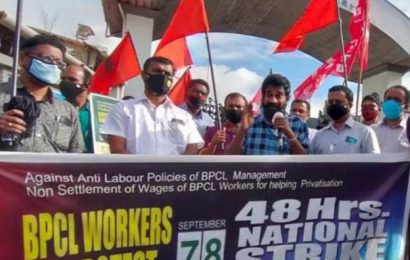 Trade unions on 48-hour strike at BPCL-Kochi Refinery