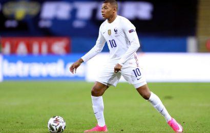 France forward Mbappe tests positive for COVID