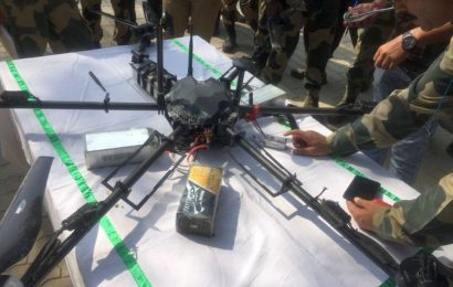 Alert along LoC after Pak's ISI uses drones to drop weapons