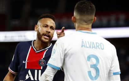 Neymar says was racially abused by Marseille player