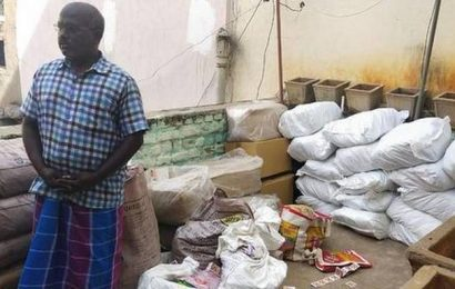 587 kg of banned tobacco products seized in Madurai