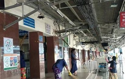Cleanliness drive taken up at Tirupati rly. station