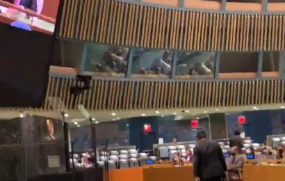 SEE: Indian delegate walks out as Pak PM rakes up Kashmir at UNGA