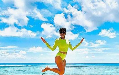 PIX: Mandira Bedi's BIKINI holiday in Maldives
