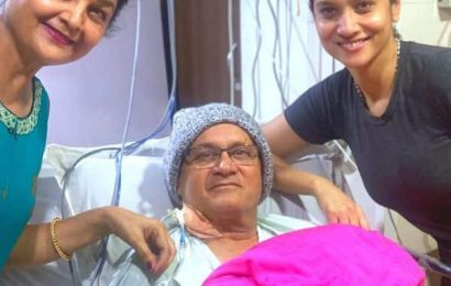 Ankita Lokhande posts emotional pic with her parents; says, 'Get well and come home soon Paa'