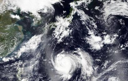 Japan bracing for dangerously powerful typhoon