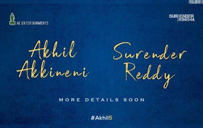 #Akhil5: Akhil Akkineni- Surender Reddy film officially announced