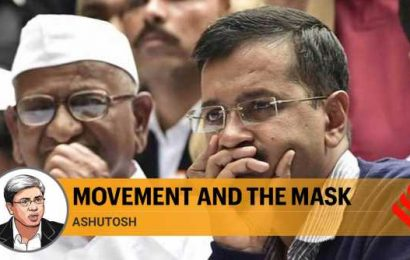 If Prashant Bhushan believes Kejriwal, Anna Hazare were propped up by RSS, then I beg to differ