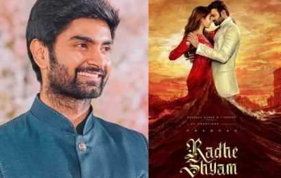 Atharvaa Murali to play Prabhas younger brother in Radhe Shyam?