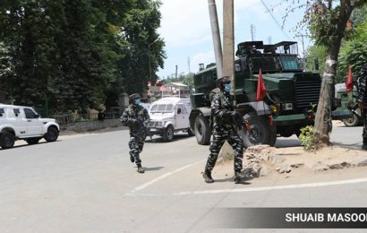 Three militants, assistant sub-inspector of J-K police killed in encounter